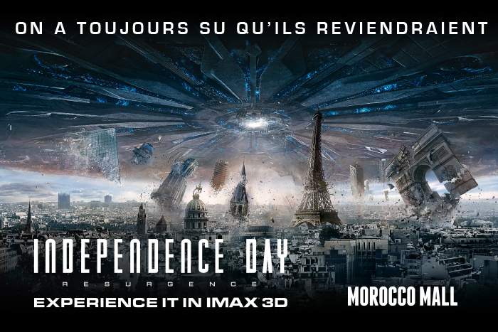 Film à l'affiche : INDEPENDENCE DAY 2